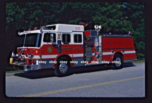 Bethpage NY 1984 Young Crusader II pumper Fire Apparatus Slide
