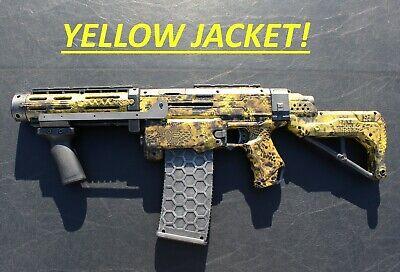 Custom Painted Modified Nerf Guns for Cosplay, LARP & HvZ: Nerf Retaliator