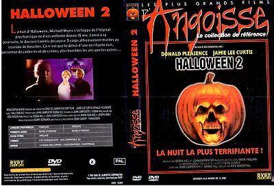 DVD Halloween 2 | Jamie Lee Curtis | Horreur | Lemaus