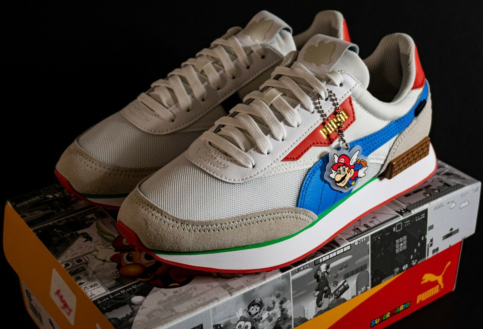 Puma Future Rider Super Mario 64 Men's Size 9 / In Hand Ready To Ship!
