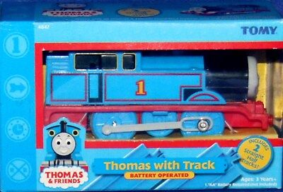 "Thomas & Friends 4"" Electronic Batterie Operated Thomas New Factory Sealed 2004"