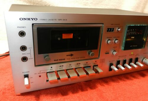 Onkyo TA-630DM Dolby Cassette Deck - Fully Serviced - Works Great - Sounds Sweet