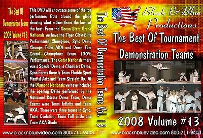2008 Best Karate Martial Arts Tournament Demo Teams #13 DVD kata forms