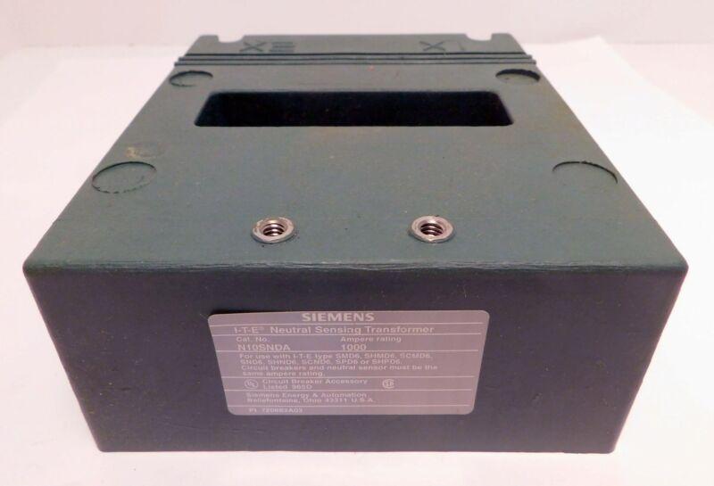 Siemens N10SNDA Neutral Sensing Transformer 1000A 600VAC NOS NIB