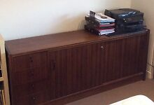 Solid timber executive credenza buffet unit Sandringham Bayside Area Preview
