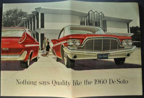1960 DeSoto Large Prestige Brochure Adventurer Fireflite Nice Original 60