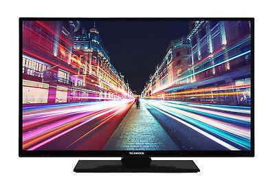 Techwood H32T52C 32 Zoll Fernseher Smart TV HD ready Triple Tuner WLAN USB CI+