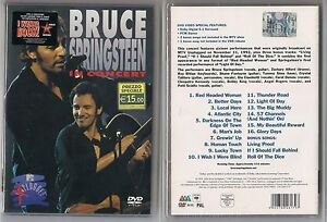 Bruce Springsteen - In concert MTV plugged DVD - Italia - Bruce Springsteen - In concert MTV plugged DVD - Italia