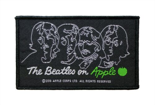 The Beatles on Apple Woven Sew On Battle Jacket Patch - Licensed 077-H