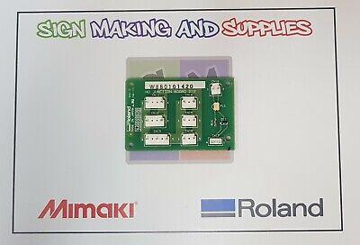 Genuine Roland Soljet Pro Ii Sc545-ex Hu Junction Board - W880101420