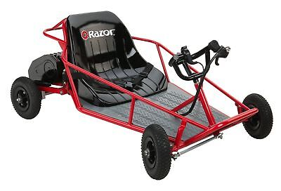 DUNE BUGGY RAZOR RED KIDS ELECTRIC OUTDOOR CART RIDE TOYS OFF ROAD STEEL FRAME