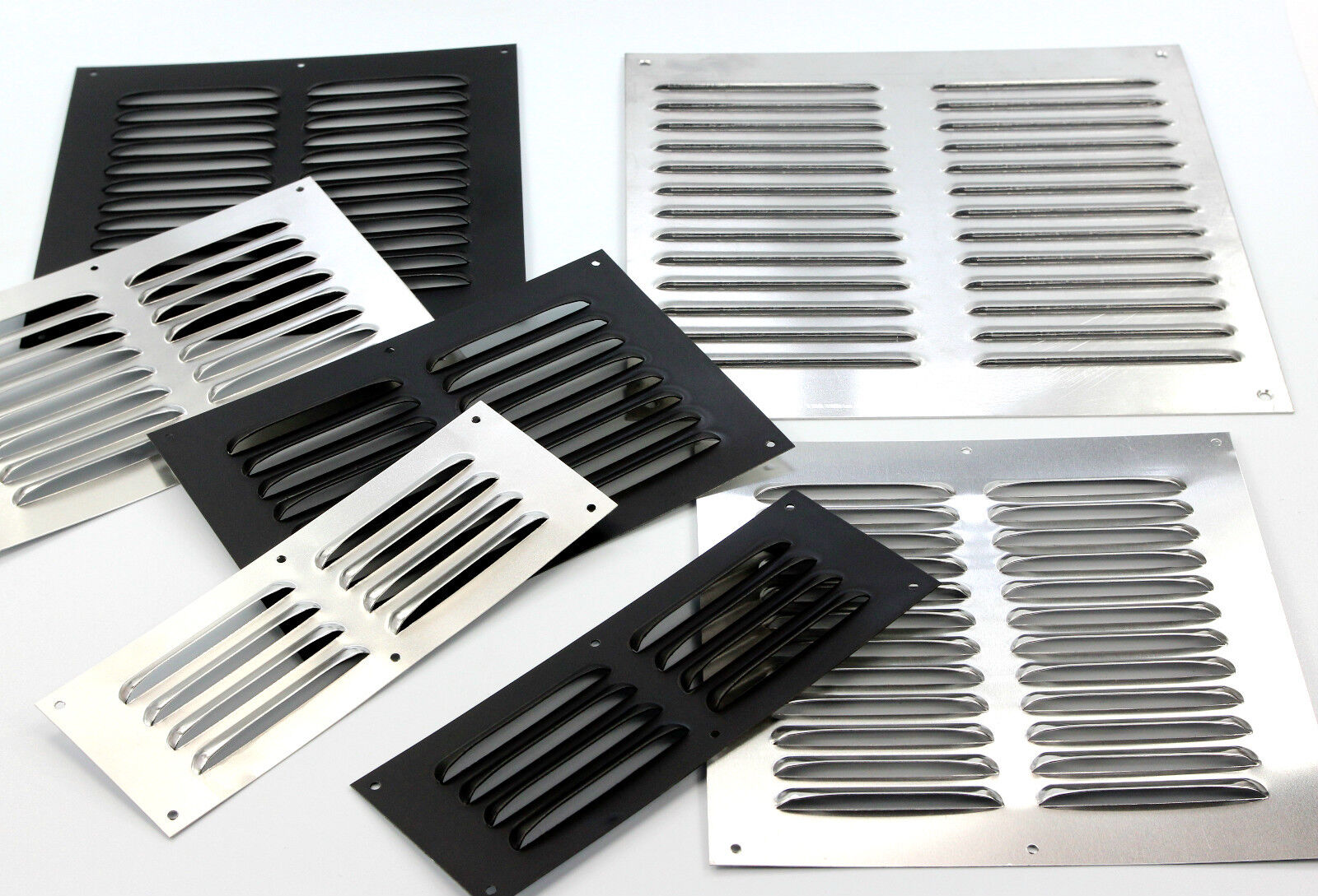 louvre air vent ventilation grill for walls doors caravans. Black Bedroom Furniture Sets. Home Design Ideas