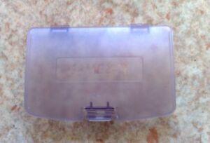cache pile violet transparent neuf pour game boy - Acheter Game Boy Color Neuve