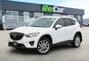 2014 Mazda CX-5 GT AWD | HEATED LEATHER | NAV | BACK UP CAM