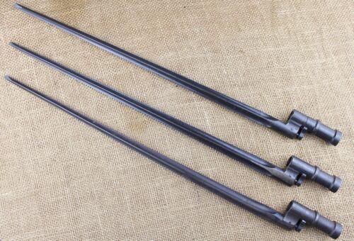 Mosin-Nagant M1891/30 rifle spike baynets, crude WWII production.