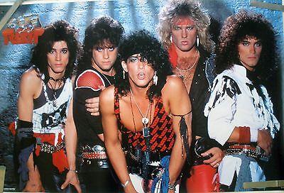 RARE RATT 1984 VINTAGE ORIGINAL MUSIC POSTER