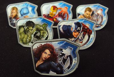 rvel Avengers Rings ~ 144 Pcs ~ Party Favors, Grab Bags (Avengers Cupcake Ringe)
