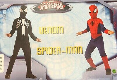 Ultimate Spider-Man & Venom Child Costumes 2 COSTUMES Rubies 620524 BRAND - Kids Venom Costume
