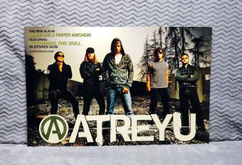TWO Atreyu Promo Posters<<>>Atreyu<<>>Atreyu
