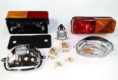 Kit Headlights Rear Light Pasquali Tractor