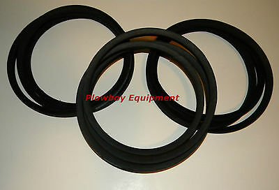 Disc Mower Drive Belt Set Kuhn Gmd44 Gmd400 83101672 Hay Tool Parts 58 X 100