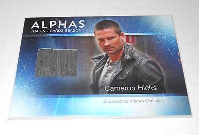 Hick Costume (Alphas TV-Show Costume Trading Card Warren Christie as Cameron Hicks)
