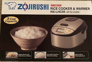 Zojirushi 3 cup rice cooker brand new