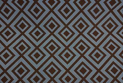 Kravet Dorage Denim Blau Braun Geometrisch Fr Multi-Einsatz Stoff pro Meter (Braune Denim-stoff)