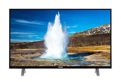 Telefunken D43F287N4CWI 43 Zoll Fernseher Full HD Smart TV Triple Tuner WLAN CI+