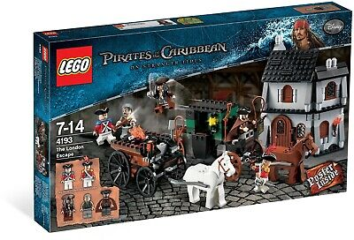 NEW Lego Disney's Pirates of the Caribbean The London Escape 4193 JACK SPARROW