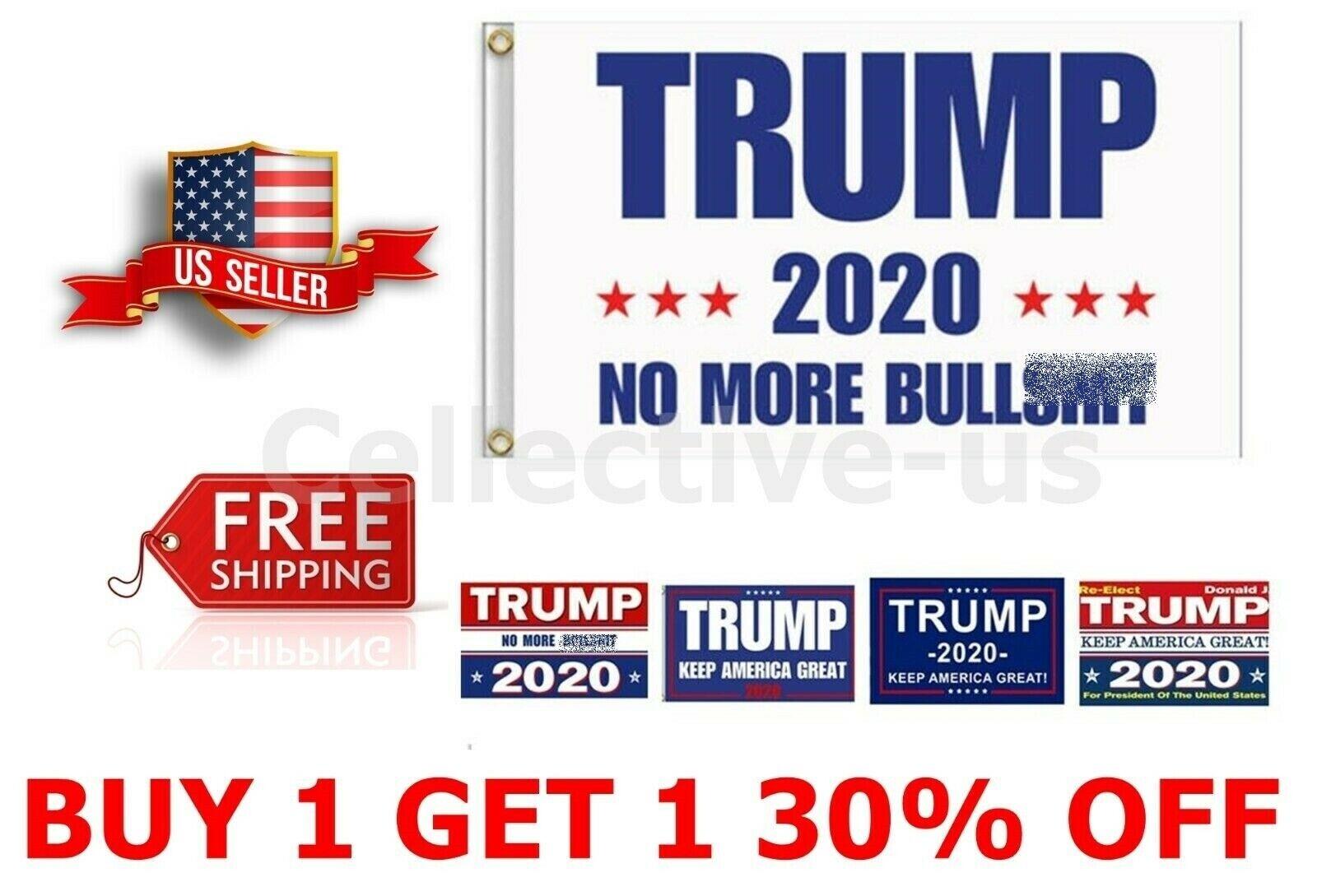 Trump 2020 Flag Keep America Great President MAGA 3x5 Feet Flag FREE Shipping^