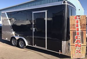 2017 CONTINENTAL CARGO TRAILER 8 X 18 FT