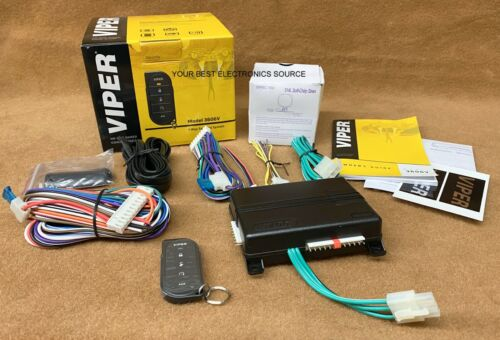 NEW VIPER 3606V 1-Way Car Security System w/ 5-Button Remote