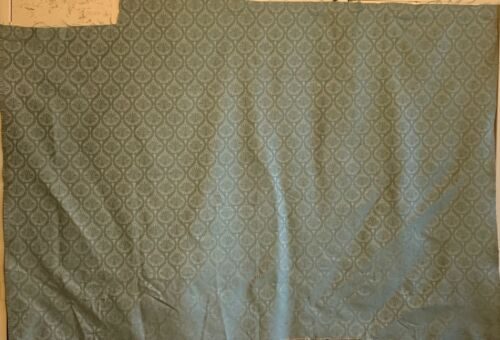 Beautiful 20th Century French Rayon Woven Framed Damask Fabric (2704)