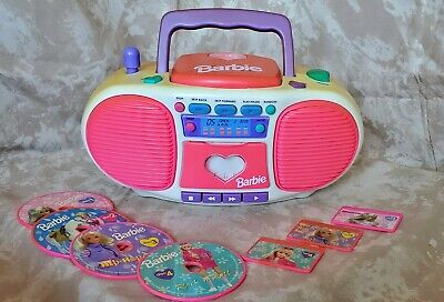 Vintage Dance With Me Barbie Boombox