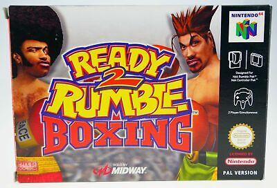 Ready 2 Rumble Boxing | Nintendo 64 N64 | boxed CIB komplett in OVP