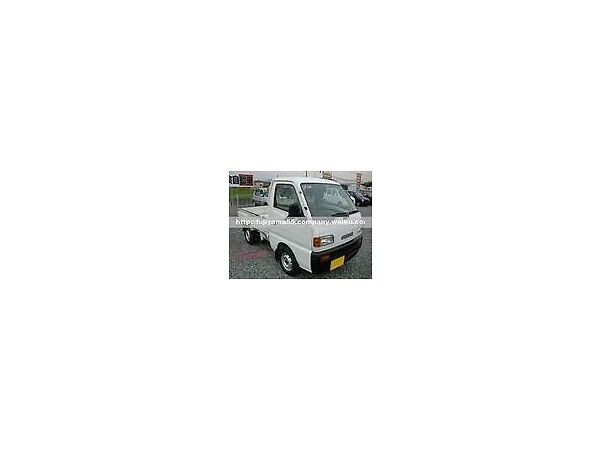 Used 1997 Suzuki Suzuki kei truck 660 cc with cargo box n fold down