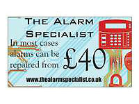Problems with your alarm, or need a alarm. Call The Alarm Specialist