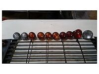 Land Rover Defender Grill and light set