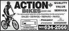 ACTION BIKES Repairs, New Bikes - Quality Value Service