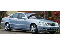 mercedes benz s500 lwb S500 breaking all parts 2001 / silver v8 50L
