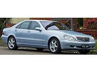 mercedes 500 sel v8 auto lwb parts