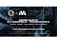 SHINE NYE - DENIS SULTA, DJ SEINFELD & TRANCE WAX