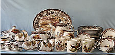 """Rare Almost Entire Royal Worcestor Palissy """"Games Series"""" Set Floreat Cambridge Area Preview"""