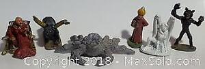 Ral Partha Dungeons And Dragons Figure Lot Of 6