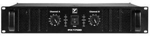 Yorkville PX1700 2X850W 2R 2U Power Amp