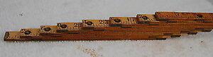 Antique carpenter ruler