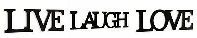 Your Choice Live   Laugh   Love Wall Or Table Decor Sign Capital Letters New Nwt