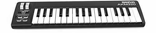 midiplus 32-Key Midi Controller 32-Key AKM320 Keyboard