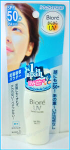 Biore UV Perfect Face Milk Sun Block 30ml. SPF 50 ++